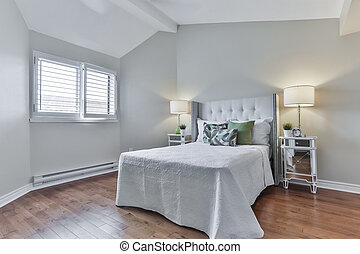 Bedroom old fashioned interior