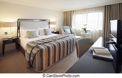 Bedroom, home, interior, beautiful, warm, warmth, romance,...