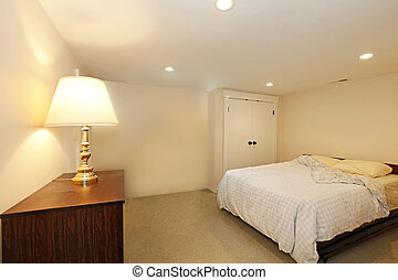 Bedroom without windows