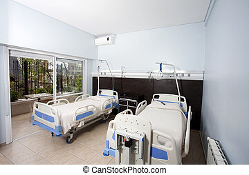 Beds In Rehabilitation Center