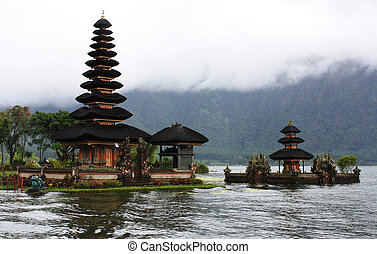 Bedugul Bali - Ancient temple at Bedugul Bali