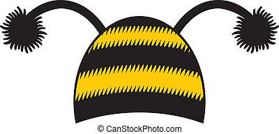 bee cap, bee hat