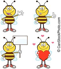 Bee Interactive Poses 1 Collection
