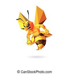 Bee Mascot Design