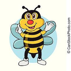 Bee thumb up