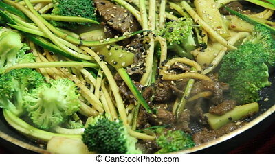 beef and broccoli gluten free stir fry - gluten free pad sew...
