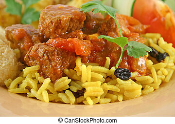 Beef Curry Vindaloo