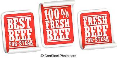 Beef for steak stickers