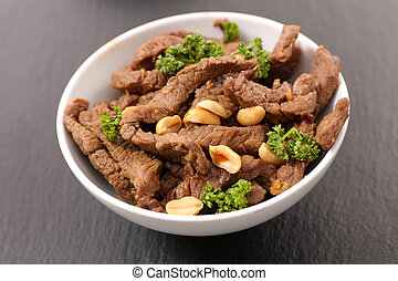 beef in soy sauce