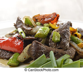 Beef Meat With Vegetables