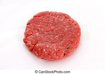 Beef Pattie - Pattie of Beef Shaped Like a Burger