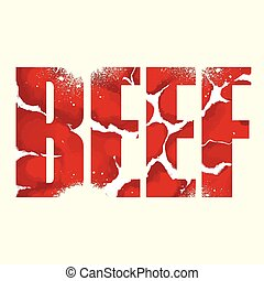 Beef sign