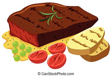 beef steak stock illustration images 13 843 beef steak rh canstockphoto com clipart stakeholder clipart stealth fighter