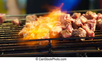 Beef steak Taiwan night market