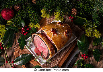 Beef Wellington as Advent creation