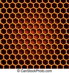 Beehive abstract background