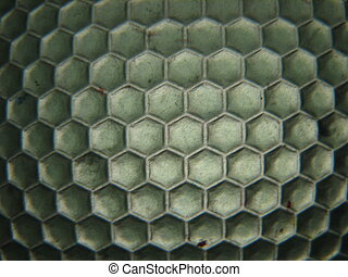 beehive background structure