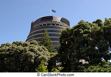 Parliament of New Zealand - Beehive building - Parliament of...