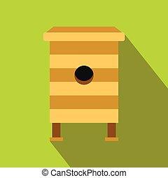 Beehive flat icon
