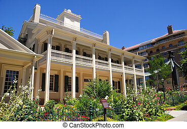 Beehive House a Mormon Historic Residence in Salt Lake City