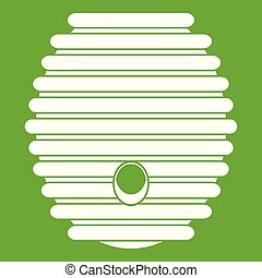Beehive icon green
