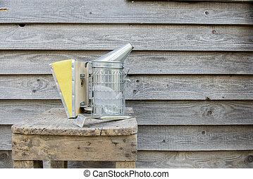 beekeeping equipment - beekeeping equipment, smoker in new...