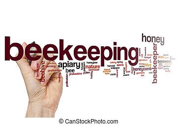 Beekeeping word cloud