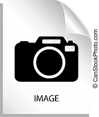 beeld, bestand, pictogram