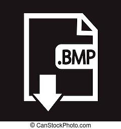 beeld, bestand, type, formaat, bmp, pictogram
