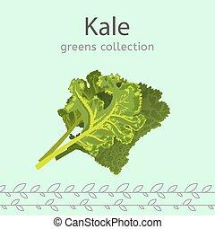 beeld, groente, verzameling