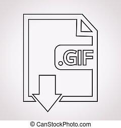 beeld, pictogram,  type, bestand, Formaat