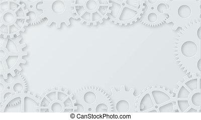beeldmateriaal, moderne, mechanisme, industriebedrijven, concept, animation., technologie, toestellen, achtergrond., 4k