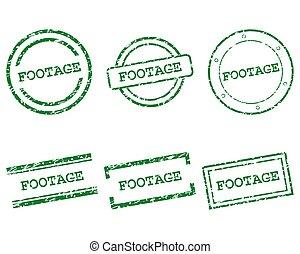 beeldmateriaal, postzegels
