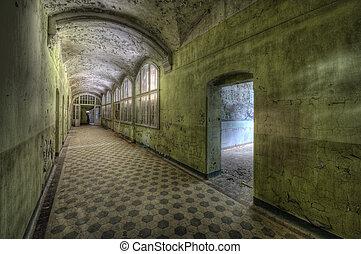 Beelitzer Heilstaetten - The old hospital complex in Beelitz...