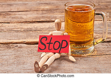 Beer addiction how to stop.