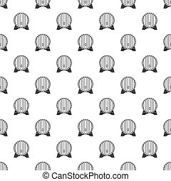Beer barrel pattern seamless