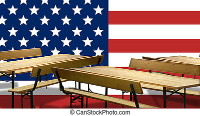 Beer benches USA Design