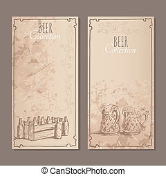 Beer collection cards