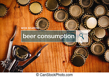 Beer consumption - web search