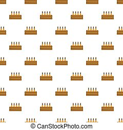 Beer crate pattern seamless