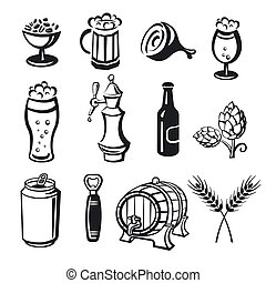 beer drinks icons