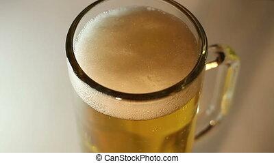 Beer Foam Head Macro