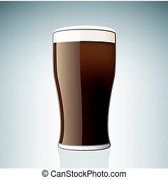 Beer Glass (part of the Alcohol Glass Icons Set)