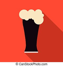 Beer glass icon iweb sign symbol logo label