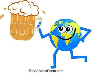 beer globe