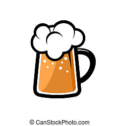 Beer Icon. Vector