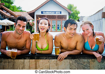 Beer In Pool