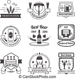 Beer Label Set