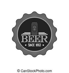 Beer label