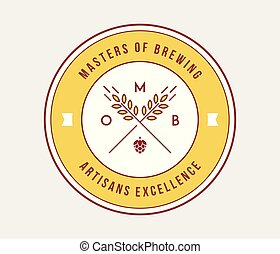 Beer masters of brewing